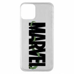 Чехол для iPhone 11 Marvel logo and vine