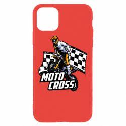 Чехол для iPhone 11 Motocross