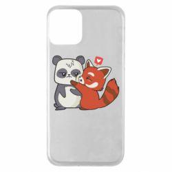 Чохол для iPhone 11 Panda and fire panda