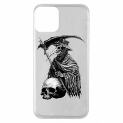 Чехол для iPhone 11 Plague Doctor graphic arts
