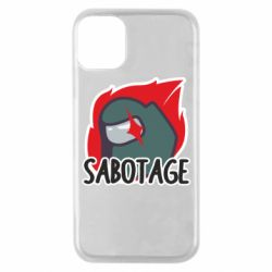 Чохол для iPhone 11 Pro Among Us Sabotage