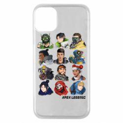 Чохол для iPhone 11 Pro Apex legends heroes
