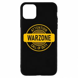 Чехол для iPhone 11 Pro Attention Warzone