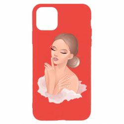 Чехол для iPhone 11 Pro Beautiful art girl