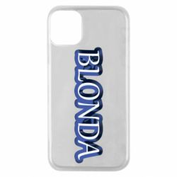 Чехол для iPhone 11 Pro BLONDA