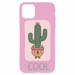 Чехол для iPhone 11 Pro Cactus art