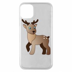 Чехол для iPhone 11 Pro Cartoon deer
