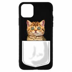 Чехол для iPhone 11 Pro Cat in your pocket