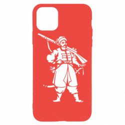 Чехол для iPhone 11 Pro Cossack with a gun
