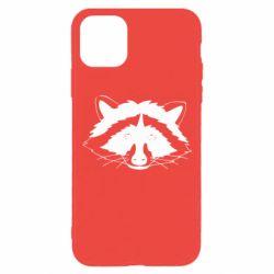 Чохол для iPhone 11 Pro Cute raccoon face