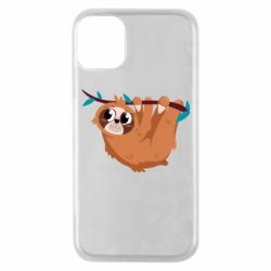 Чохол для iPhone 11 Pro Cute sloth