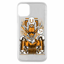 Чехол для iPhone 11 Pro Deer On The Throne