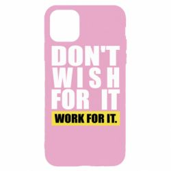 Чохол для iPhone 11 Pro Dont wish