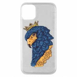 Чехол для iPhone 11 Pro Eagle with a crown on its head