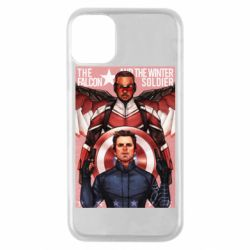 Чохол для iPhone 11 Pro Falcon and the Winter Soldier Art