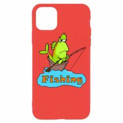 Чехол для iPhone 11 Pro Fish Fishing