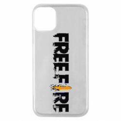 Чехол для iPhone 11 Pro Free Fire spray