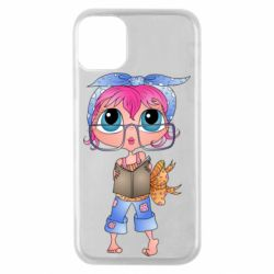 Чохол для iPhone 11 Pro Girl with a book