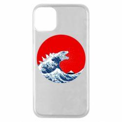 Чохол для iPhone 11 Pro Godzilla Wave