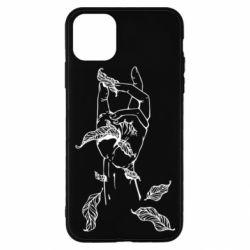 Чохол для iPhone 11 Pro Hand with leafs