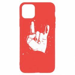 Чехол для iPhone 11 Pro HEAVY METAL ROCK