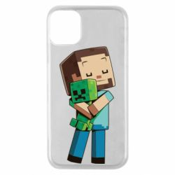 Чехол для iPhone 11 Pro Heroes from Minecraft