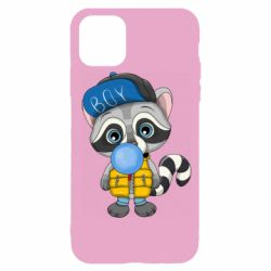 Чехол для iPhone 11 Pro Little raccoon