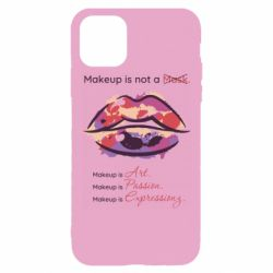 Чохол для iPhone 11 Pro Make Up Is Not A Mask LIps