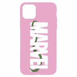 Чехол для iPhone 11 Pro Marvel logo and vine