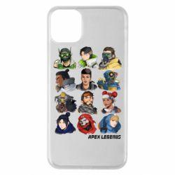 Чохол для iPhone 11 Pro Max Apex legends heroes