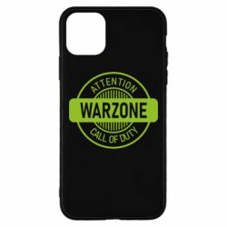 Чехол для iPhone 11 Pro Max Attention Warzone