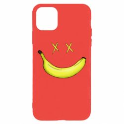 Чехол для iPhone 11 Pro Max Banana smile