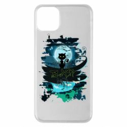 Чехол для iPhone 11 Pro Max Black cat art