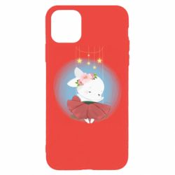 Чохол для iPhone 11 Pro Max Bunny in a red dress