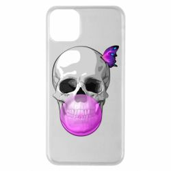 Чохол для iPhone 11 Pro Max Butterfly on the skull