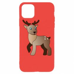 Чехол для iPhone 11 Pro Max Cartoon deer