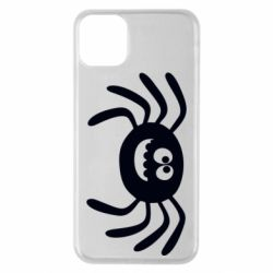 Чехол для iPhone 11 Pro Max Cute spider with mustache