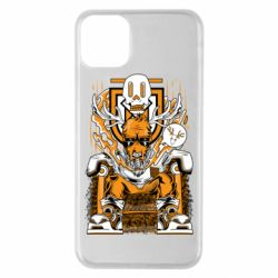 Чехол для iPhone 11 Pro Max Deer On The Throne