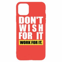 Чохол для iPhone 11 Pro Max Dont wish
