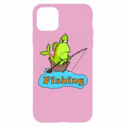 Чехол для iPhone 11 Pro Max Fish Fishing