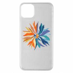 Чохол для iPhone 11 Pro Max Flower coat of arms of Ukraine