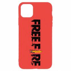 Чехол для iPhone 11 Pro Max Free Fire spray