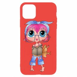 Чохол для iPhone 11 Pro Max Girl with a book