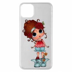 Чехол для iPhone 11 Pro Max Girl with big eyes