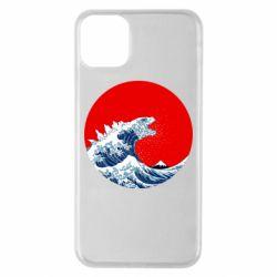 Чохол для iPhone 11 Pro Max Godzilla Wave