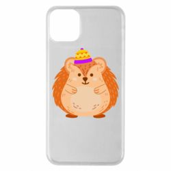 Чохол для iPhone 11 Pro Max Little hedgehog in a hat