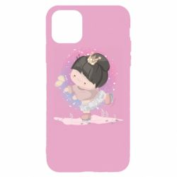 Чехол для iPhone 11 Pro Max Little princess and butterfly