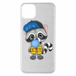 Чехол для iPhone 11 Pro Max Little raccoon