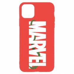 Чехол для iPhone 11 Pro Max Marvel logo and vine