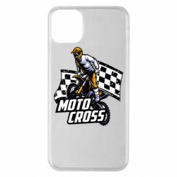 Чехол для iPhone 11 Pro Max Motocross